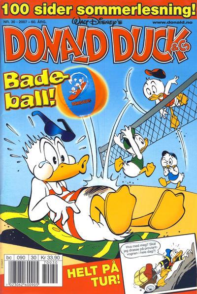 Cover for Donald Duck & Co (Hjemmet / Egmont, 1948 series) #30/2007