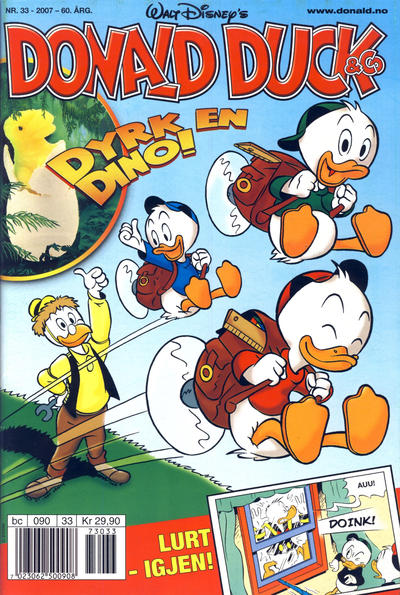 Cover for Donald Duck & Co (Hjemmet / Egmont, 1948 series) #33/2007