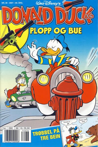 Cover for Donald Duck & Co (Hjemmet / Egmont, 1948 series) #36/2007