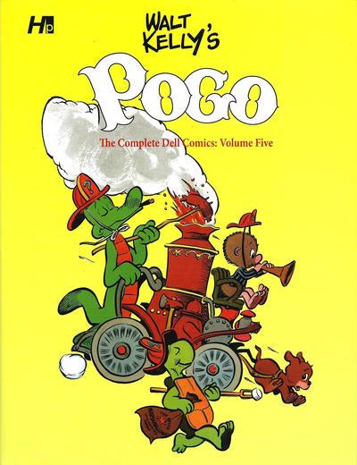 Cover for Walt Kelly's Pogo (Hermes Press, 2014 series) #5