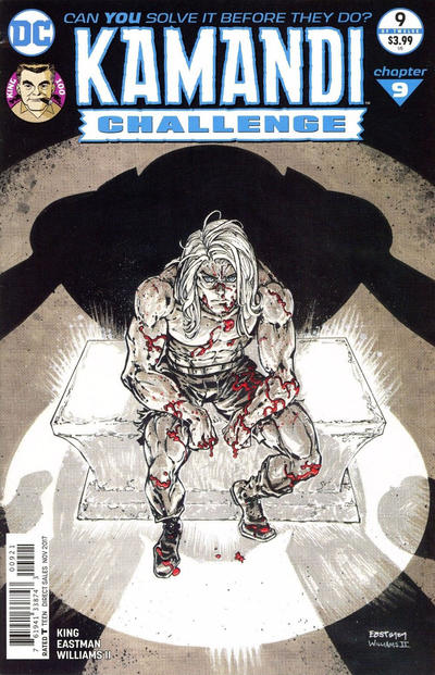 Cover for The Kamandi Challenge (DC, 2017 series) #9 [Main Cover]