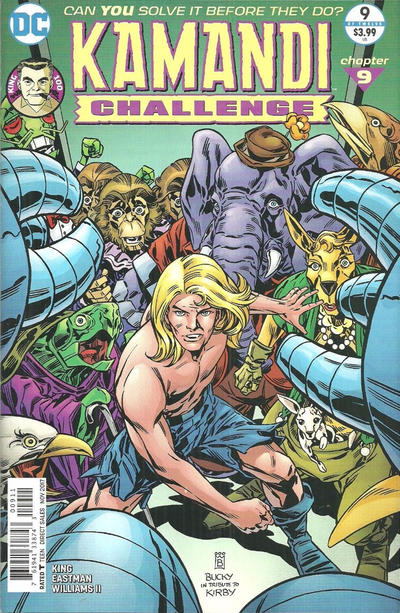 Cover for The Kamandi Challenge (DC, 2017 series) #9