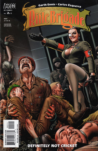 Cover for Adventures in the Rifle Brigade (DC, 2000 series) #2