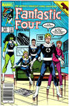 Cover Thumbnail for Fantastic Four (1961 series) #285 [Canadian Newsstand Edition]