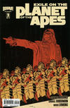 Cover Thumbnail for Exile on the Planet of the Apes (2012 series) #2 [Cover B Declan Shalvey]