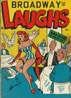 Cover for Broadway Laughs (Prize, 1950 series) #v10#5