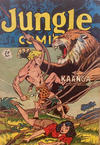 Cover for Jungle Comics (H. John Edwards, 1950 ? series) #19