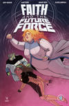 Cover Thumbnail for Faith and the Future Force (2017 series) #4 [Cover B - Jen Bartel]