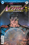 Cover for Action Comics (DC, 2011 series) #989 [Nick Bradshaw Lenticular Cover]