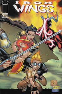 Cover Thumbnail for Iron Wings (Image, 2000 series) #1 [Cover A Jay Juch]