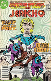 Cover for Teen Titans Spotlight (DC, 1986 series) #3 [Direct]