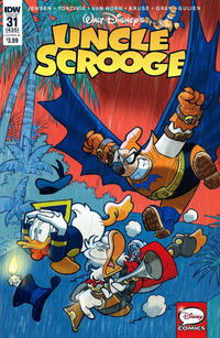 Cover for Uncle Scrooge (IDW, 2015 series) #31 / 435 [Cover B - Mastantuono]