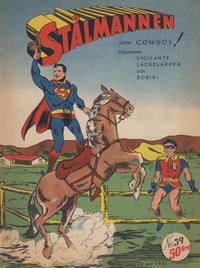 Cover Thumbnail for Stålmannen (Centerförlaget, 1949 series) #39/1951