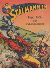 Cover Thumbnail for Stålmannen (Centerförlaget, 1949 series) #12/1952