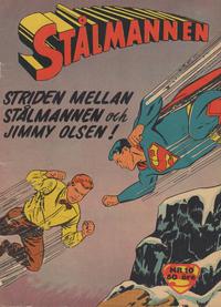 Cover Thumbnail for Stålmannen (Centerförlaget, 1949 series) #10/1959