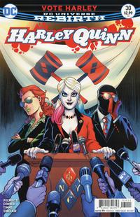Cover Thumbnail for Harley Quinn (DC, 2016 series) #30
