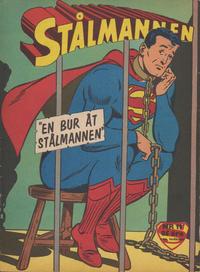 Cover Thumbnail for Stålmannen (Centerförlaget, 1949 series) #11/1962