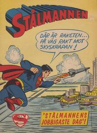 Cover Thumbnail for Stålmannen (Centerförlaget, 1949 series) #3/1962