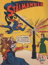 Cover Thumbnail for Stålmannen (Centerförlaget, 1949 series) #4/1953