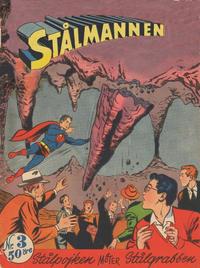 Cover Thumbnail for Stålmannen (Centerförlaget, 1949 series) #3/1956