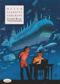 Cover Thumbnail for Clear Blue Tomorrows (Cinebook, 2016 series)