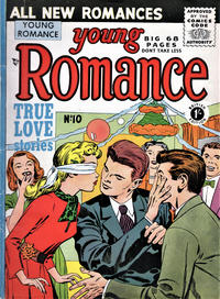 Cover Thumbnail for Young Romance (Thorpe & Porter, 1953 series) #10