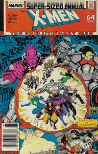 Cover Thumbnail for X-Men Annual (Marvel, 1970 series) #12 [Newsstand]
