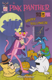 Cover Thumbnail for Pink Panther: Trick or Pink (American Mythology Productions, 2016 series)  [Regular Cover]