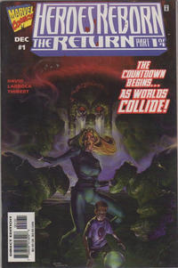 Cover Thumbnail for Heroes Reborn: The Return (Marvel, 1997 series) #1 [Comic Zone Variant]