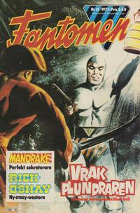 Cover Thumbnail for Fantomen (Semic, 1963 series) #15/1977