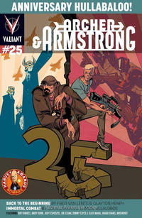 Cover Thumbnail for Archer and Armstrong (Valiant Entertainment, 2012 series) #25 [Cover B - Shawn Crystal]