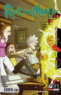 Cover for Rick and Morty (Oni Press, 2015 series) #28 [Cover B]
