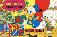 Cover Thumbnail for Donald Duck & Co julehefte (Hjemmet / Egmont, 1968 series) #1985