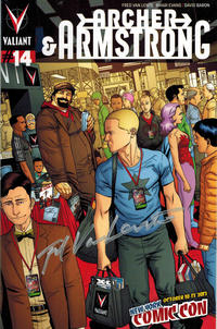 Cover Thumbnail for Archer and Armstrong (Valiant Entertainment, 2012 series) #14 [New York Comic Con - Clayton Henry]