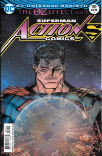 Cover Thumbnail for Action Comics (DC, 2011 series) #989 [Nick Bradshaw Lenticular Cover]