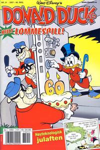 Cover Thumbnail for Donald Duck & Co (Hjemmet / Egmont, 1948 series) #51/2007