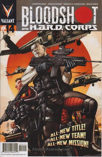 Cover Thumbnail for Bloodshot and H.A.R.D.Corps (Valiant Entertainment, 2013 series) #14 [Cover A - J. G. Jones]