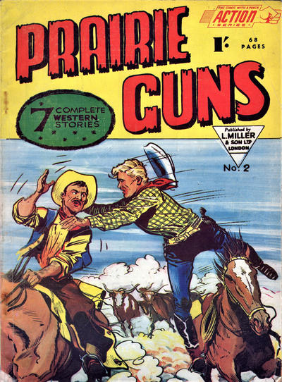 Cover for Action Series (L. Miller & Son, 1958 series) #2