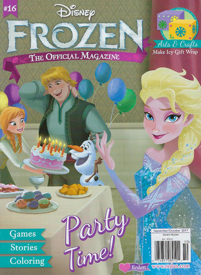 Cover for Frozen Magazine (Redan Publishing Inc., 2015 series) #16