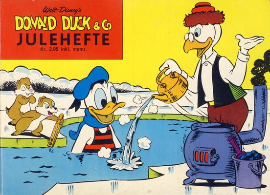 Cover for Donald Duck & Co julehefte (Hjemmet / Egmont, 1968 series) #1974