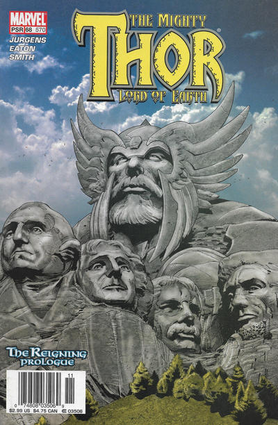 Cover for Thor (Marvel, 1998 series) #68 (570) [Direct Edition]