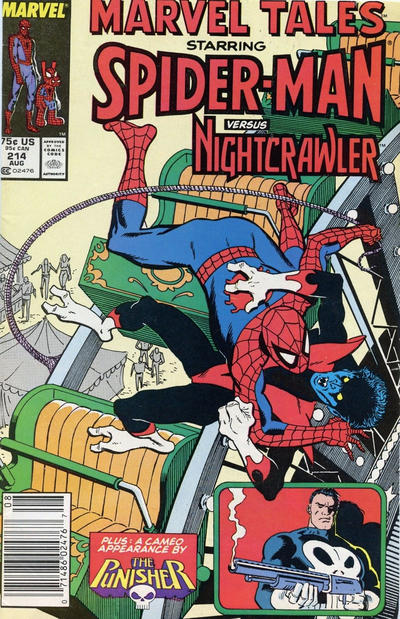 Cover for Marvel Tales (Marvel, 1966 series) #214 [Direct Edition]