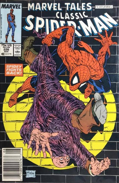 Cover for Marvel Tales (Marvel, 1966 series) #226 [Direct Edition]