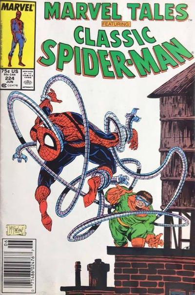 Cover for Marvel Tales (Marvel, 1966 series) #224 [Newsstand]