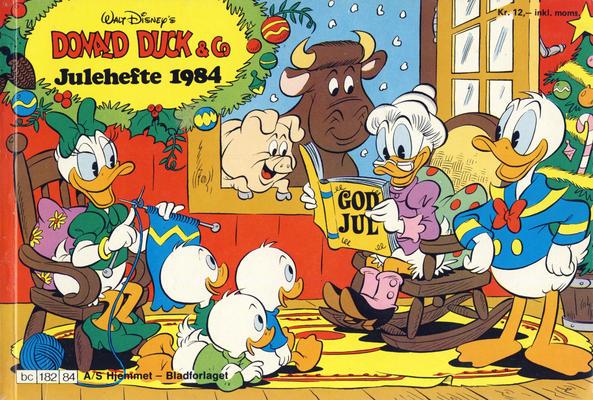 Cover for Donald Duck & Co julehefte (Hjemmet / Egmont, 1968 series) #1984