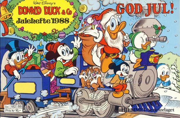 Cover for Donald Duck & Co julehefte (Hjemmet / Egmont, 1968 series) #1988