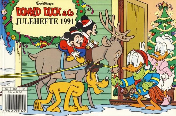 Cover for Donald Duck & Co julehefte (Hjemmet / Egmont, 1968 series) #1991