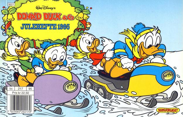 Cover for Donald Duck & Co julehefte (Hjemmet / Egmont, 1968 series) #1995