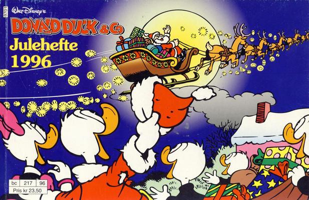 Cover for Donald Duck & Co julehefte (Hjemmet / Egmont, 1968 series) #1996