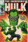 Cover for The Incredible Hulk (Marvel, 1968 series) #115 [British Price Variant]